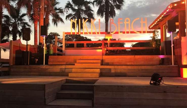 Soirée au Nikki Beach